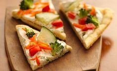 Easy Crescent Veggie Pizza – Healthy To Fit