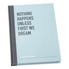 Use this 101 Dreams Journal to dream without limitations. Create a list to inspire and work towards making those dreams come true.