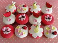 Teddy Bears Picnic - cupcakes by Sharon Wee Creations, via Flickr
