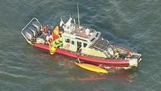 Authorities in New York say five kayakers were injured when they were hit by a ferry on the Hudson River