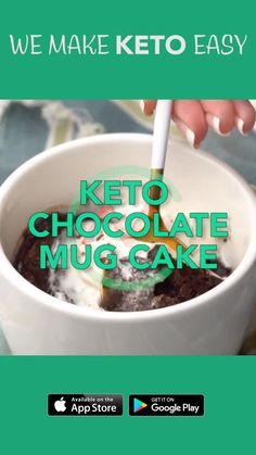 Low Carb Desserts, Low Calorie Recipes, Vegan Keto, Paleo, Keto Egg Recipe, Diabetic Cake, Keto Holiday, Diet Apps, Keto Cake