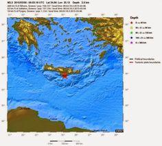 Πρωινή επίσκεψη του εγκέλαδου νότια της Κρήτης | cretaone