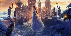 """Dziadek do orzechów i cztery królestwa (2018) The Nutcracker and the Four Realms Kolejny projekt Disneya """"Dziadek do orzechów i cztery królestwa"""" to wariacja na podstawie słynnej baśni E.T.A.Hoffmanna, która swoją międzynarodową sławę zawdzięcza baletowej wersji skomponowanej przez Piotra Czajkowskiego. Niesamowity wizualnie film jest przepiękny w szczególności dzięki zadziwiającej scenografii, charakteryzacji, kostiumom – wszystko to stoi na najwyższym poziomie."""