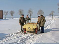 Hanomag Kommissbrot im Schnee, 2010 by kitchener.lord, via Flickr