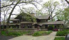 FLW, Bradley House - 1900