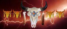 Buffalo Storm Mixed Media by John Guthrie