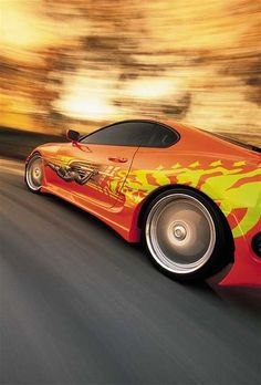 I'll never forget the car that made me fall in love with the Fast and the Furious movies...the 2JZ twin-turbo Supra...what I wouldn't do to have the keys to this beauty