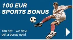 100 eur sports bonus