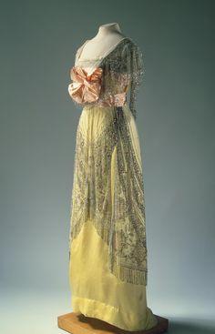 1910 Robe de soirée