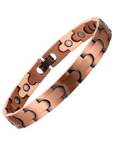100% Copper Magnetic Bracelet Pure Copper, All Brands, 100 Pure, Link Bracelets, The 100, Pandora, Pure Products, Band, Sterling Silver