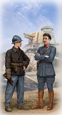 French Tankmen