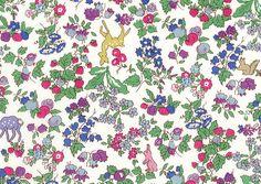 Liberty tana lawn fabric Nancy Animal in purple by sewsewnsew
