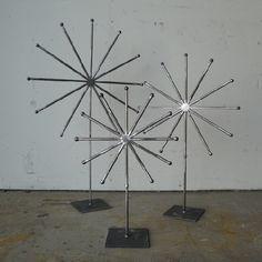 Wyatt Studio Atomic Table Sculptures $175