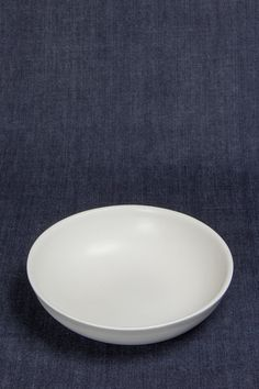Large Nesting Bowl in White by Felt + Fat - Beam & Anchor