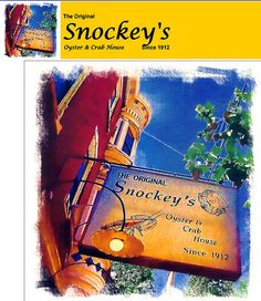 I miss this seafood restaurant in Philadelphia,PA. Snockey's Oyster House is a Philadelphia 'tradition.' Prior to moving to Florida..I enjoyed many happy and delicious lunches here with friends from work. It is located in South Philadelphia on South 3rd Street north of Washington Avenue. Recently I was talking to an old buddy..and he told me that Snockey's is celebrating 100 years. Click photo..see menu & more. 1great-trip.com