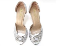 Sara, shoes for brides $99 #bridalshoes #vintageshoes #bellabelleshoes