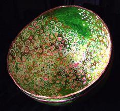 """flower bowl"" by Genista Dunham"