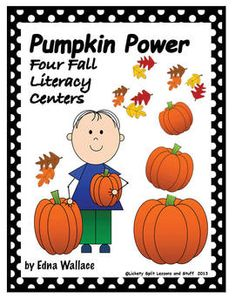 PUMPKIN Power: It's all about building literacy skills.  Includes a 6-page Emergent Reader,  Spin a picture, tell or write a story, make lists,  play a fall game.  Unit adapts easily to hands-on activities and different ages.  FREE