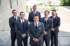 Hilton KCI Wedding | Felicia The Photographer | Groomsmen pose