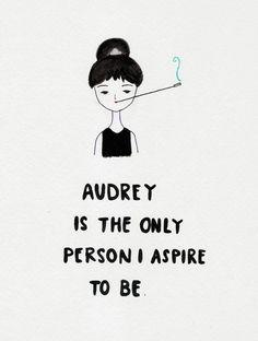 #AudreyHepburn