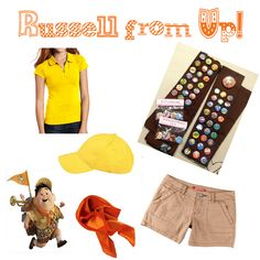 With Alabama Swagger: runDisney Costume Ideas: Russell from Up!