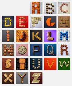 Edible Alphabet | Flickr - Photo Sharing!