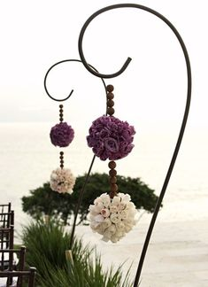 sweet - use garden hooks - will do on our patio - thebookofsecrets.tumblr.com