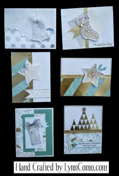 Just getting started for the holidays with this collection.  I created all of these ideas with Yuletide Joy Stamp of the Month, Oh Deer paper, All About the Gold Fundamentals. You can learn more about the details on the link below.