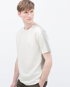 SHORT SLEEVE SWEATSHIRT - Sweatshirts & Hoodies - MAN | ZARA Germany