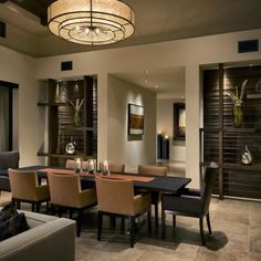 Contemporary Dining Room Design, Pictures, Remodel, Decor and Ideas