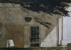 Andrew WyethThe Porch (1970)watercolor 75 x 55cm