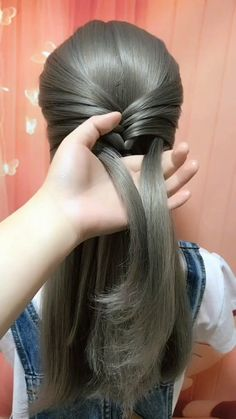 Long hair hairstyles for girl hairstyles tutorials compilation 2019 Hairstyles For Medium Length Hair Easy, Short Hair Styles Easy, Medium Hair Styles, Curly Hair Styles, Natural Hair Styles, Hairstyles For Girls Easy, Hair Braiding Styles, Easy Hairstyles For Medium Hair, Hair Medium