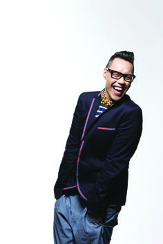 Gok Wan is one of the most inspirational men I think. I would love to work with him on helping women to feel good with your body and help their self esteem.