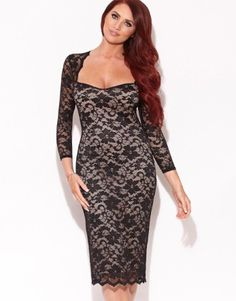 Amy Childs Lucia Sweetheart Neckline Dress