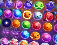 Funny Planets Match-3