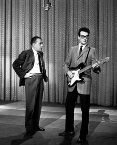 Buddy Holley with Ed