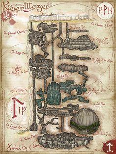 Beneath Kaer Maga [1350 × 1800]
