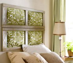 DIY Headboard Ideas | Stylish Shutters | DIY Bedroom Decorating Ideas