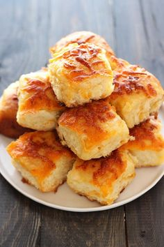 The ultimate carb lover's delight, Cheddar Potato Rolls are light, fluffy, tender, and loaded with cheese! A crowd pleaser that can be made ahead of time!