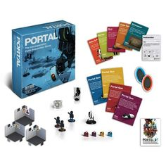 This is Portal: The Uncooperative Cake Acquisition Board Game that's produced by Cryptozoic Entertainment. It's awesome and great for any fan of the Portal franchise. The Portal Board Game is for 2 to Aperture Science, Board Game Design, Portal 2, Enrichment Activities, Christmas Gift Guide, Best Games, Games To Play, Card Games, Nerdy