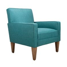 Uptown Lounge Chair in Teal
