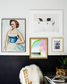 4-piece gallery wall