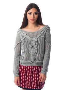Hello Holiday · Rope Sweater