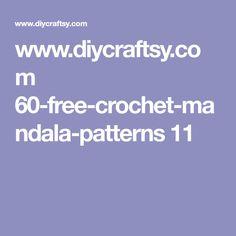 www.diycraftsy.com 60-free-crochet-mandala-patterns 11