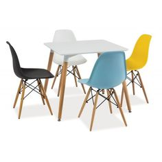 Masa patrata Eames Eames, Chair, Collage, House, Furniture, Home Decor, Ideas, Dream Rooms, Style