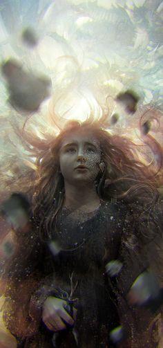 Beautiful Princess Digital Painting of Shireen Baratheon by Dalisa Anja