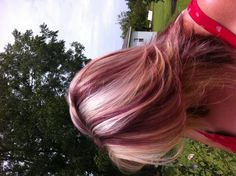 Blonde with red L/L ;)