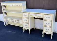 french provincial desk | French Provincial writing desk with hutch by Dixi in East Hanover, New ...