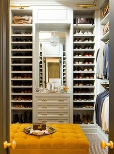 Mens Walk-In Closet, Contemporary, closet, Nate Berkus Design Master Closet, Walk In Closet, Shoe Closet, Entry Closet, Closet Doors, Master Suite, Celebrity Closets, Celebrity Style, Casa Real