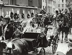 Silvia Sommerlath and King Carl XVI Gustaf of Sweden, Stockholm, 19 June 1976.